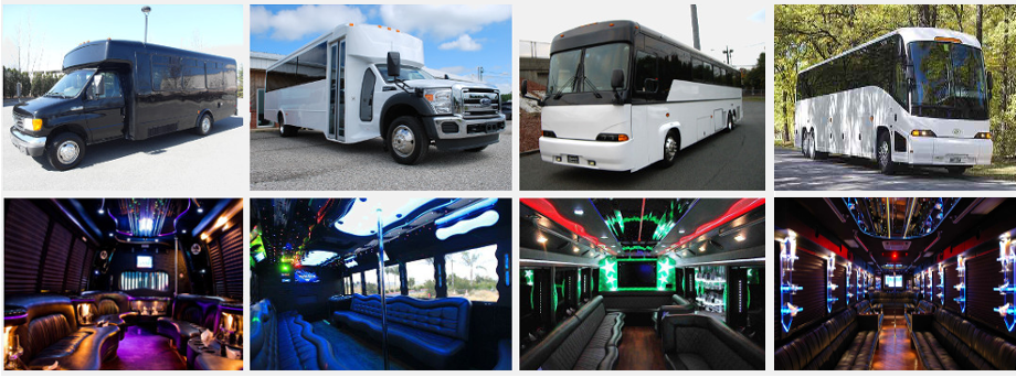Party Bus Greensboro NC 4 BEST Greensboro Party Buses For Rent