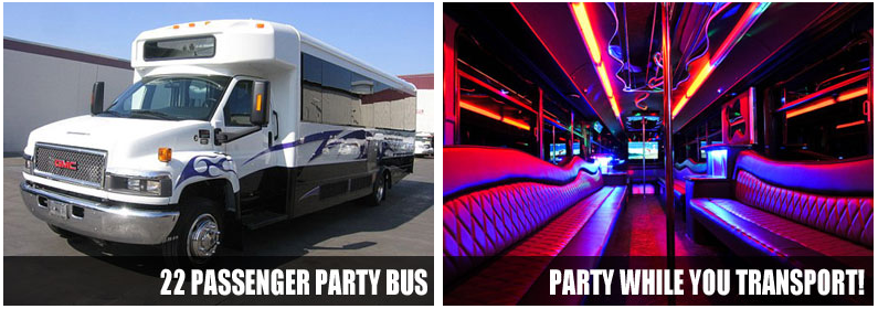 prom party bus durham